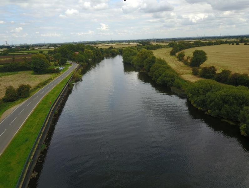 Flood Survey of River