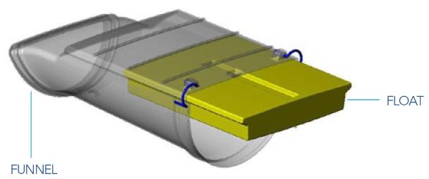 Overflow Diverter Diagram